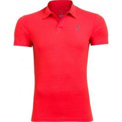 Koszulka polo męska TSM610A - czerwony - Outhorn. Czerwone koszulki polo Outhorn, na lato, m, z bawełny. W wyprzedaży za 39,99 zł.