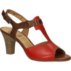 SANDAŁY CAPRICE 9-28308-2. Brązowe sandały damskie Casu. Za 189,99 zł.