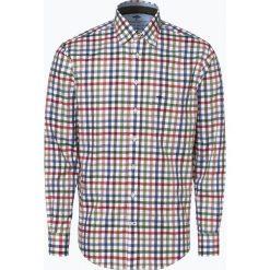 Fynch Hatton - Koszula męska łatwa w prasowaniu, zielony. Zielone koszule męskie non-iron Fynch-Hatton, l, z dekoltem karo. Za 249,95 zł.