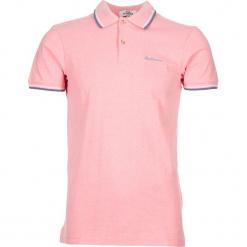 """Koszulka polo """"Romford"""" w kolorze różowym. Czerwone koszulki polo marki Ben Sherman, m, z haftami, z bawełny. W wyprzedaży za 108,95 zł."""