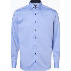 Eterna Modern Fit - Koszula męska niewymagająca prasowania, niebieski. Niebieskie koszule męskie non-iron marki Eterna Modern Fit, m, z bawełny. Za 249,95 zł.