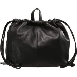 Shopper bag damskie: Topshop DRAWSTRING Torba na zakupy black