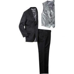 Garnitur (5 części) bonprix czarny. Czarne garnitury bonprix. Za 399,99 zł.