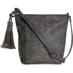 Torebka na ramię bonprix szaro-szary spiżowy. Szare torebki klasyczne damskie marki bonprix. Za 79,99 zł.