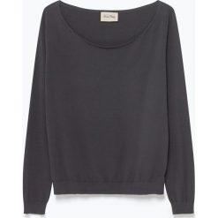 """T-shirty damskie: Koszulka """"Marcel"""" w kolorze antracytowym"""