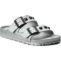 Chodaki damskie: Klapki BIRKENSTOCK - Arizona 1006841 Studded Silver