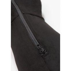 Miss KG VICKY Muszkieterki black. Czarne buty zimowe damskie Miss KG, z materiału. W wyprzedaży za 344,50 zł.