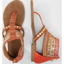 Rzymianki damskie: Lazamani Sandały z cholewką red