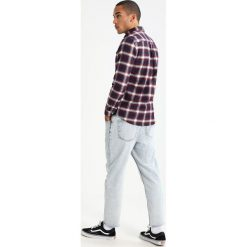 Koszule męskie na spinki: Burton Menswear London BURG CHECK Koszula burgundy