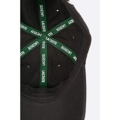Lacoste - Czapka. Czarne czapki męskie Lacoste. W wyprzedaży za 149,90 zł.