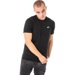 4f Koszulka męska H4L18-TSMF002 czarna r. XXL. Czarne koszulki sportowe męskie marki 4f, l. Za 50,90 zł.