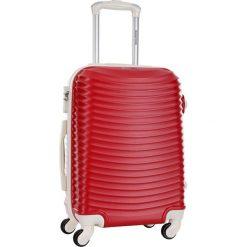 Walizki: Walizka w kolorze czerwonym – 45 l