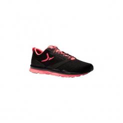 Buty fitness kardio 500 damskie. Czarne buty do fitnessu damskie marki DOMYOS, z gumy. Za 119,99 zł.