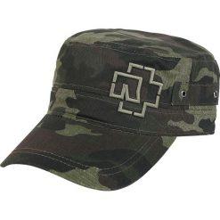 Czapki męskie: Rammstein Outline Logo Czapka wojskowa kamuflaż