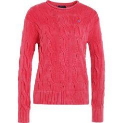 Swetry klasyczne damskie: Polo Ralph Lauren BOXY LONG SLEEVE Sweter faded red