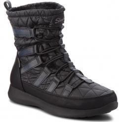 Śniegowce SKECHERS - East Stone 49806/BLK Black. Niebieskie buty zimowe damskie marki Skechers. W wyprzedaży za 249,00 zł.