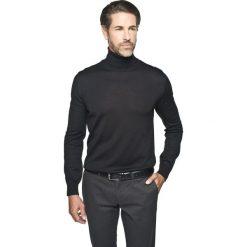 Golfy męskie: sweter valero golf czarny