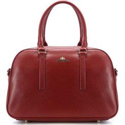 Torebka damska 85-4E-455-3. Czerwone torebki klasyczne damskie marki Wittchen, w paski, z tworzywa sztucznego. Za 489,00 zł.