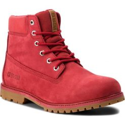 Trapery BIG STAR - BB274441 Red. Czerwone buty zimowe damskie BIG STAR, z materiału. Za 299,00 zł.