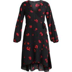 Sukienki hiszpanki: Gina Tricot LINNEA WRAP DRESS Sukienka letnia red