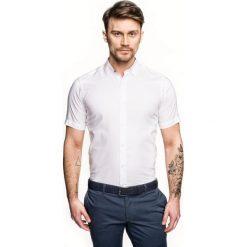 Koszula bexley 2488/1 krótki rękaw custom fit biały. Brązowe koszule męskie marki QUECHUA, m, z elastanu, z krótkim rękawem. Za 139,00 zł.