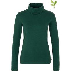 """Bluzki asymetryczne: Koszulka """"Aida"""" w kolorze zielonym"""