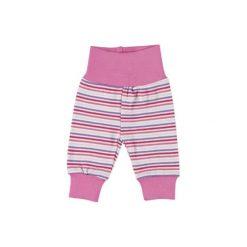 FIXONI Girls Spodnie dresowe kolor różowy. Czerwone spodnie niemowlęce Fixoni, z bawełny. Za 49,00 zł.