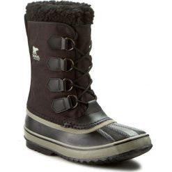 Śniegowce SOREL - 1964 Pac Nylon NM1440 Black/Tusk 011. Czarne glany męskie Sorel, z gumy. W wyprzedaży za 369,00 zł.