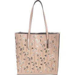 Torebki klasyczne damskie: Skórzana torebka w kolorze taupe – (S)33 x (W)55 x (G)12 cm