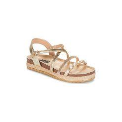 Sandały Xti  PREVAK. Żółte sandały damskie marki Xti. Za 175,20 zł.