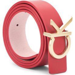 Pasek Damski CALVIN KLEIN - Ck Rev Belt Giftbox K60K604753 908. Czerwone paski damskie Calvin Klein, w paski, ze skóry. Za 299,00 zł.