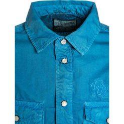 Petrol Industries Koszula dark aqua. Niebieskie bluzki dziewczęce bawełniane marki Petrol Industries. W wyprzedaży za 132,30 zł.