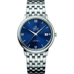 ZEGAREK OMEGA DE VILLE 424.10.37.20.03.001. Niebieskie zegarki męskie OMEGA, ze stali. Za 13200,00 zł.