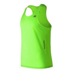 KOSZULKA NEW BALANCE SINGLET NB ICE EGL. Szare t-shirty męskie New Balance, na lato, m, ze skóry, bez rękawów, do biegania. Za 99,99 zł.