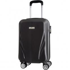 Walizka w kolorze czarnym - 34 l. Czarne walizki marki Platinium, z materiału. W wyprzedaży za 179,95 zł.