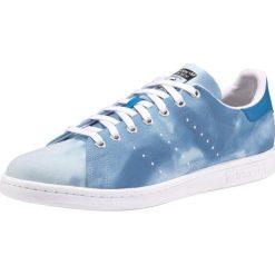 ADIDAS ORIGINALS Trampki niskie 'PW HU Holi Stan Smith Unisex'  niebieski. Niebieskie tenisówki męskie adidas Originals, z materiału, na sznurówki. Za 336,00 zł.