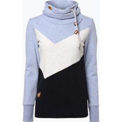 Bluzy damskie: Ragwear - Damska bluza nierozpinana – Viola Block, niebieski