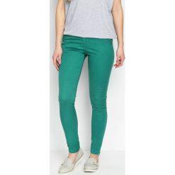 Spodnie damskie: Zielone Spodnie Imagery