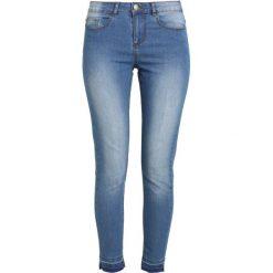 B.young LOLA LIKA CROPPED Jeansy Slim Fit med. blue. Niebieskie jeansy damskie relaxed fit b.young. W wyprzedaży za 152,10 zł.