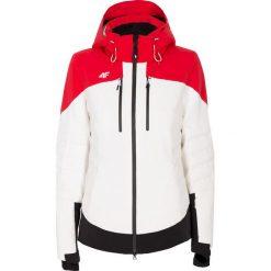 Odzież sportowa damska: Kurtka narciarska damska KUDN160 - biały
