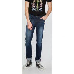 Trussardi Jeans - Jeansy Icon. Niebieskie jeansy męskie regular marki Trussardi Jeans. W wyprzedaży za 369,90 zł.