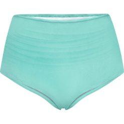 Figi bikini bonprix turkusowy. Niebieskie bikini bonprix, z nadrukiem. Za 34,99 zł.