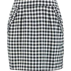 Custommade GULLAN Spódnica mini whisper white. Czarne minispódniczki Custommade, l, z materiału. W wyprzedaży za 423,20 zł.