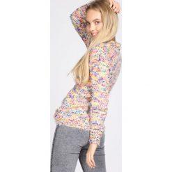 Pomarańczowy Sweter In The Beginning. Brązowe swetry klasyczne damskie marki Born2be, l, ze stójką. Za 44,99 zł.