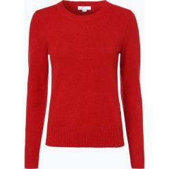 Brookshire - Sweter damski, czerwony. Czarne swetry klasyczne damskie marki brookshire, m, w paski, z dżerseju. Za 149,95 zł.