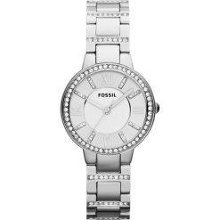 Fossil VIRGINIA Zegarek silvercoloured. Szare zegarki damskie Fossil. W wyprzedaży za 344,25 zł.