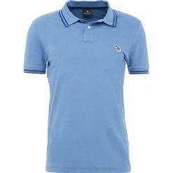 PS by Paul Smith SLIM FIT Koszulka polo turqu. Niebieskie koszulki polo PS by Paul Smith, m, z bawełny. Za 379,00 zł.
