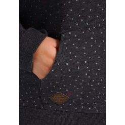 Bluzy rozpinane damskie: Ragwear Plus CHELSEA HEARTS PLUS Bluza z kapturem black melange