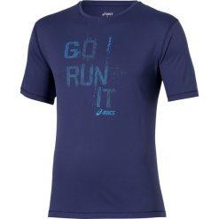 Asics Koszulka Short Sleeve Tee niebieska r. S (125141 8133). Niebieskie koszulki sportowe męskie marki Asics, m. Za 85,00 zł.