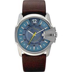 Diesel - Zegarek DZ1399. Brązowe, cyfrowe zegarki męskie Diesel, srebrne. Za 599,90 zł.